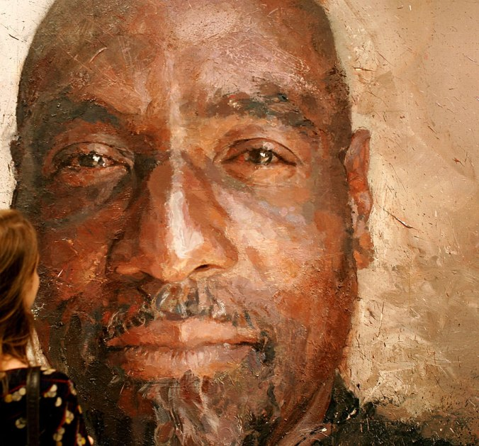 A Portrait of Viv Richards by Brendan Kelly