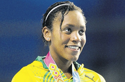 Alia Atkinson, front-runner for the 2015 RJR Sportswoman of the Year Award