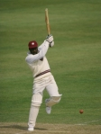 Viv Richards, the surgeon, at work dissecting the field