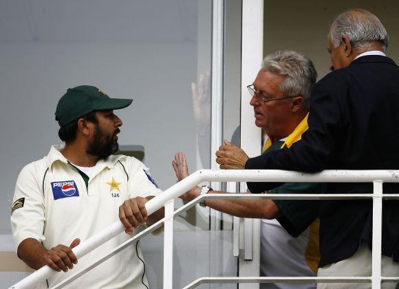 Fourth Test: England v Pakistan - Day Four