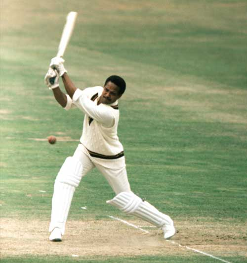 Garry Sobers bats for the Rest of the World side against England © PA Photos