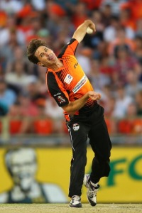 CHINAMAN: Left-arm unorthodox or left-arm leg spinners like Brad Hogg are rare specimens of surprise (Photo by Paul Kane/Getty Images)