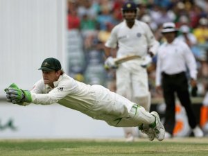 Adam Gilchrist is one of the best wicketkeeper batsman the game has ever seen. Of players who played 30 or matches as a wicketkeeper is Test cricket his average of 47.60 is second best.