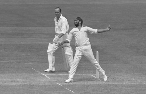 A master of deception in flight, loop, spin and pace, BIshan Singh Bedi is arguably the greatest left-arm spinner to have played Test cricket