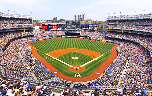 Yankee Stadium in the Bronx (Photo by Al BelloGetty Images)