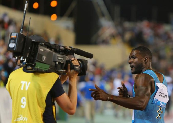 Gatlin has been the main attraction, rightfully or wrongfully, in Track and Field for 2014 and 2015 until the 100m final at the World Championships