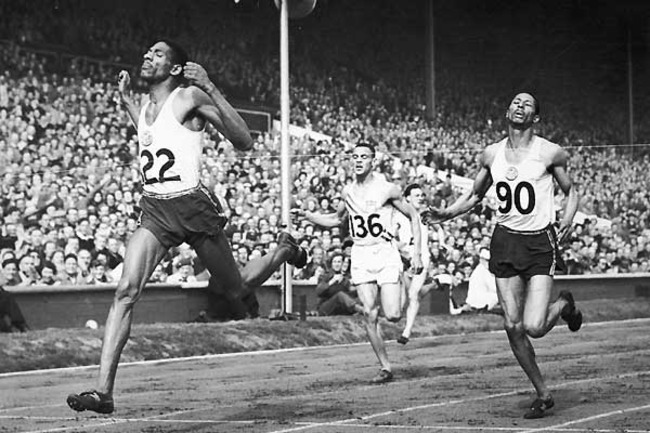 In Jamaica's first appearance at the Summer Olympics in 1948, Jamaica finished first (Arthur Wint) and second (Herb McKenely in the 400m.
