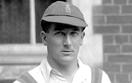 Harold Larwood, a fast bowler in Bradman's time whose name when mentioned drove terror in opposition batsmen. Bradman made 6 centuries and 5 centuries at an average of 87 in matches featuring Harold Larwood. © Photo: PA