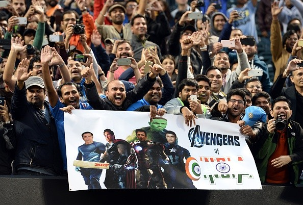 Cricket-crazed fans in New York Mets stadium to watch the Cricket All-Stars Series