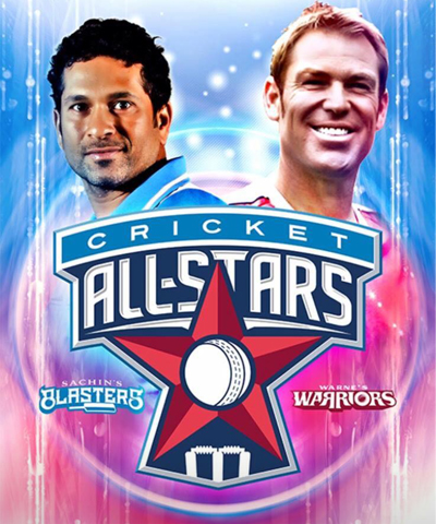 Sachin's Blasters vs Warne's Warriors Cricket All Stars T20 Series started on the 7 November 2015 in New York USA