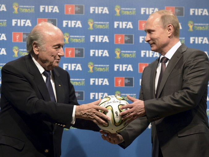 Blatter admits to a plot to award the 2018 World Cup to Russia prior to the FIFA bidding process in 2010 (Reuters)