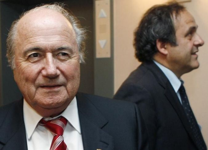 Blatter claimed his relationship with Platini soured after Platini caught the anti-FIFA virus and sidelined him during the 2008 Euros (Reuters)