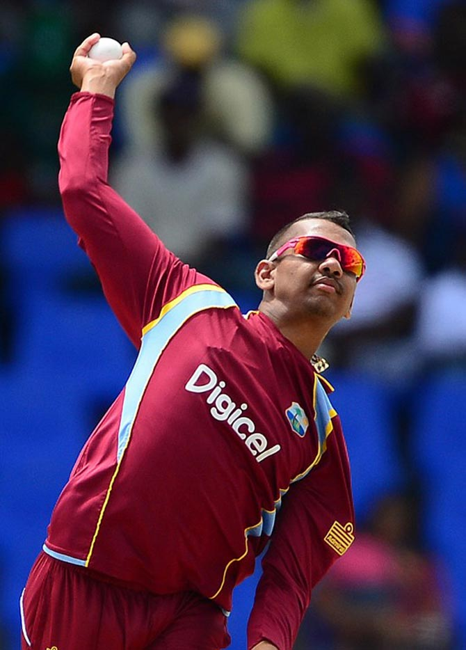 Sunil Narine has been banned for all forms of cricket by the International Cricket Council until his bowling action is remedied.