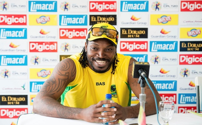 At a press conference in July 2014 at the Sir Vivian Richards stadium