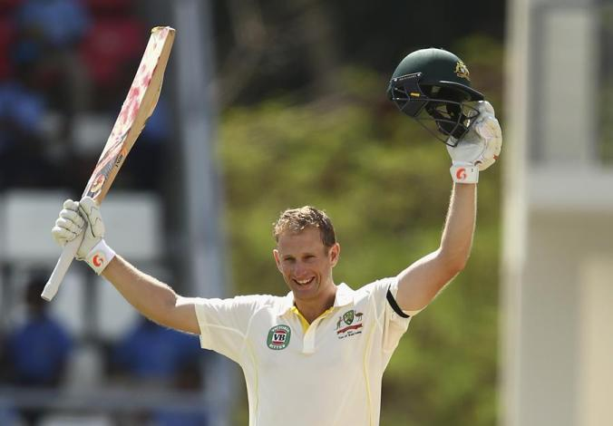 Since his century on debut, Adam Voges is rewriting the history books when it comes to batting averages and is threaten the established pantheons of the gentleman's game. © Getty Images