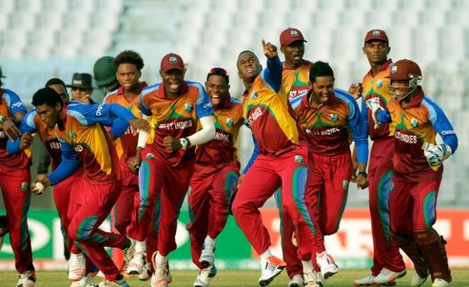West Indies under-19 World Cup winning team