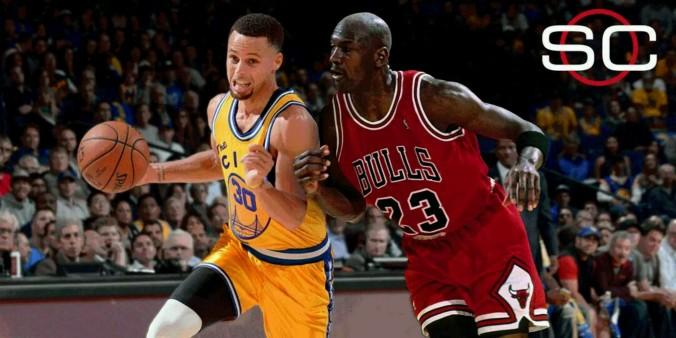 Steph Curry Michael Jordan