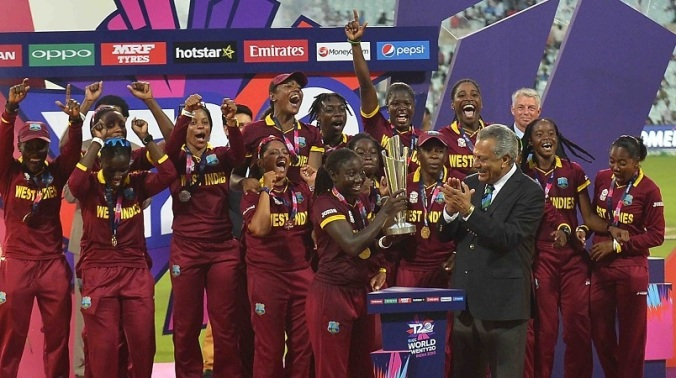 West Indies wins the 2016 Womens Team is T20 Champions