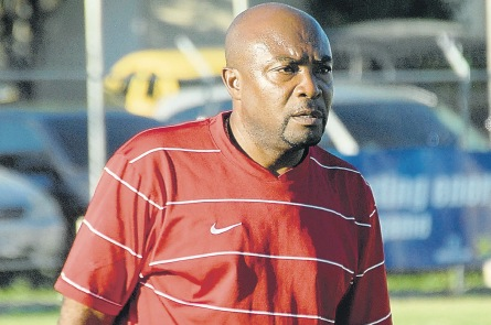 Paul 'Tegat' Davis took over the reins as coach of Montego Bay United in January 2016