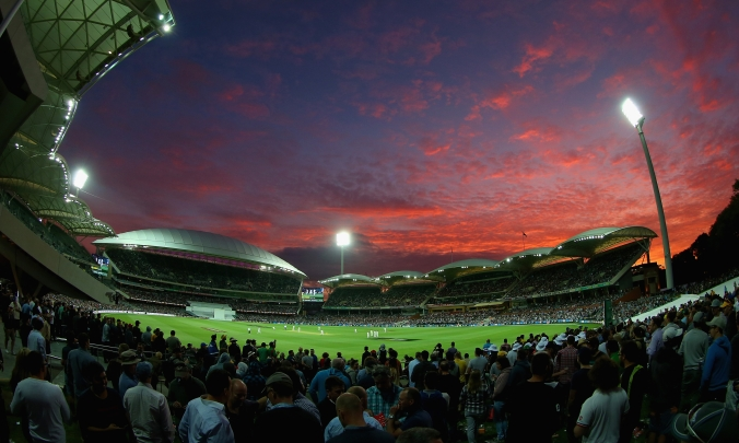 The inaugural day-night Test at the Adelaide Oval last year between Australia and New Zealand was a huge success. Photograph: Quinn Rooney/Getty Images