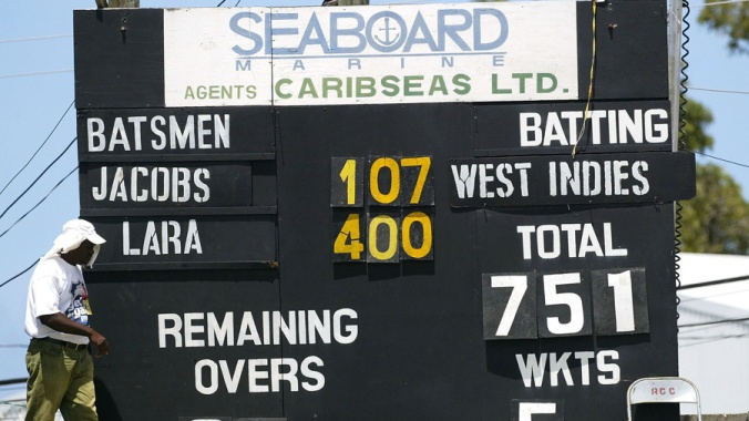 Herculean efforts like Brian Lara's 400 not out would become rare and more enthrallingly achieved.© AFP
