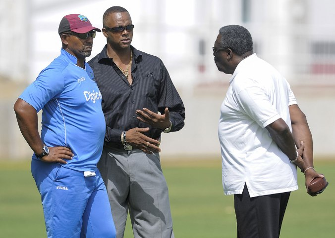 Phil Simmons was appointed West Indies coach in March 2015 ahead of the England Test series © WICB Media