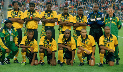 14 Jun 1998, Lens, France --- 1998 World Cup: Jamaica vs. Croatia --- Image by © Christian Liewig/TempSport/Corbis