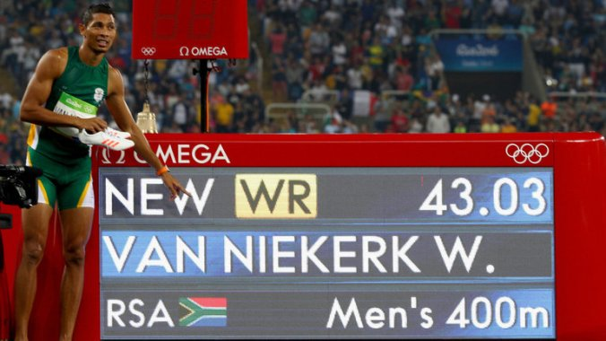 Wayde van Niekerk (Photo credit: Unknown)