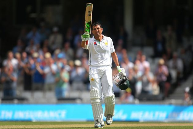 Pakistan batsman Younus Khan has moved up three places to second position in the latest MRF Tyres ICC Player Rankings for Test Batsmen (Photo credit: Ineternational Cricket Council)