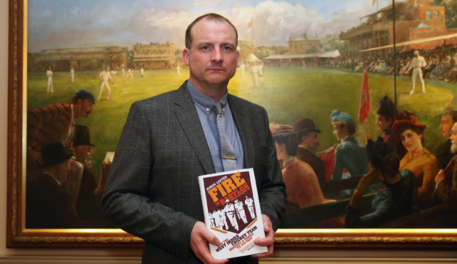 Simon Lister has won the 2016 Cricket Society & MCC Book of the Year award for his Fire in Babylon, How the West Indies Cricket Tearm Brought a People to its Feet.
