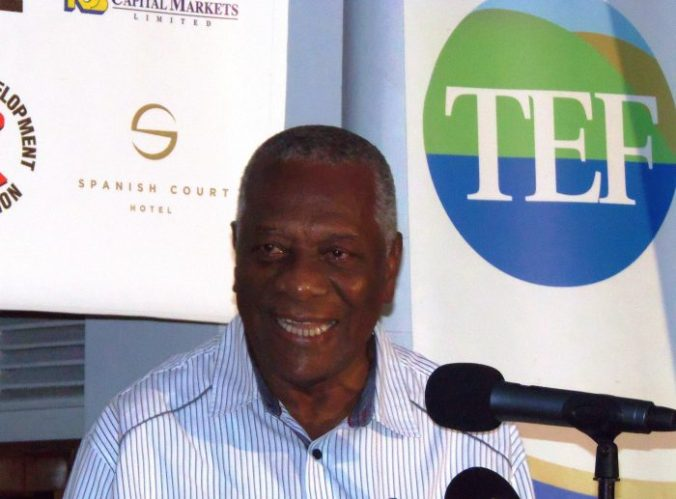 Godfrey Dyer, the chairman of the Tourism Enhancement Fund (TEF), revealed that the TEF has contributed 93 million Jamaican dollars over the past two years to the development and sponsorship of golf in Jamaica. (Photo credit: Zaheer E. Clarke)