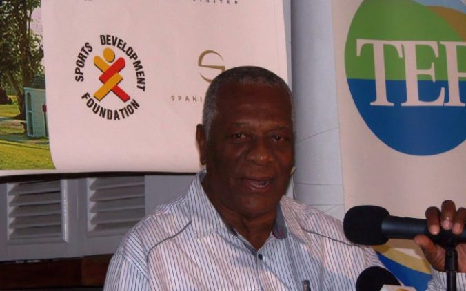 Chairman of the Tourism Enhancement Fund, Godfrey Dyer, is pleased with the outcome of the Jamaica Open golf tournament (Photo: Zaheer E. Clarke)