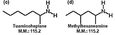 Methylhexaneamine Tuaminoheptane